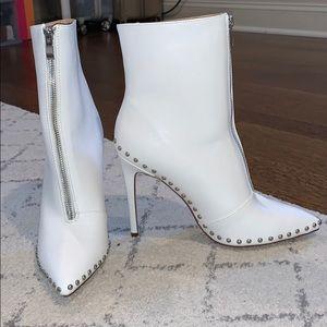 White Boot Heels